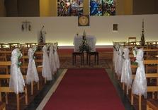 Décoration chaises église
